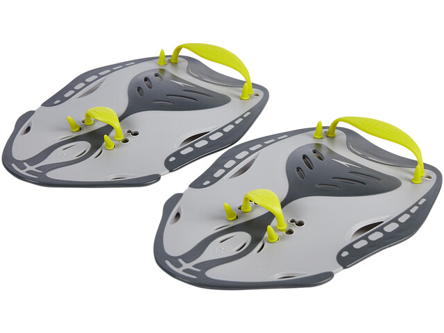 speedo Biofuse Power Paddles Unisex oxid grey/lime punch/cool grey